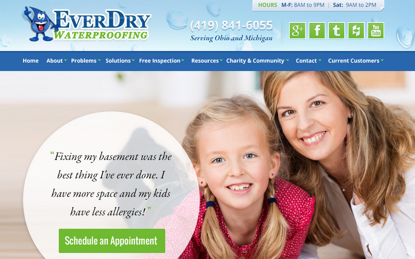 Welcome to EverDry Toledo's Blog!