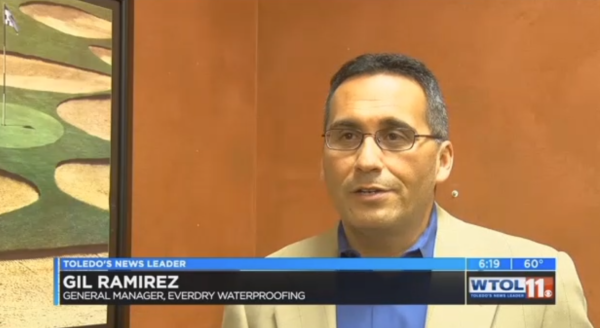 Gil Ramirez of EverDry Toledo speaks about basement flooding and sump pumps.